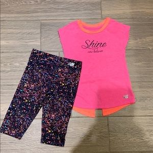 New Balance girl outfit
